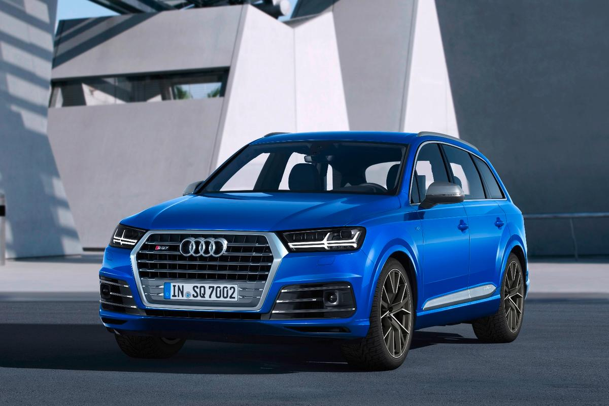 The SQ7 will hit 100 km/h in just 4.8 seconds
