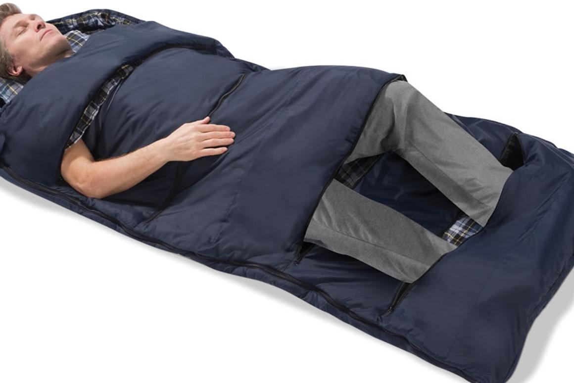 The Zippered Vents Sleeping Bag