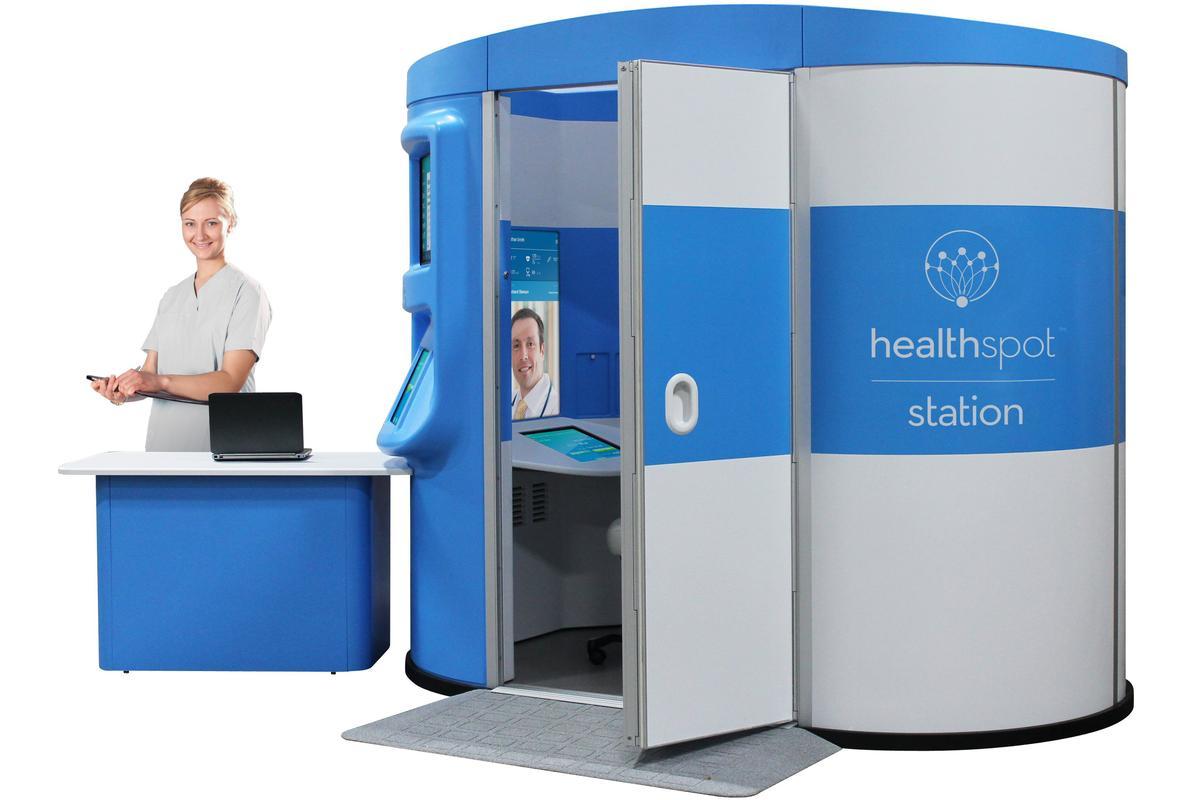 The HealthSpot Station