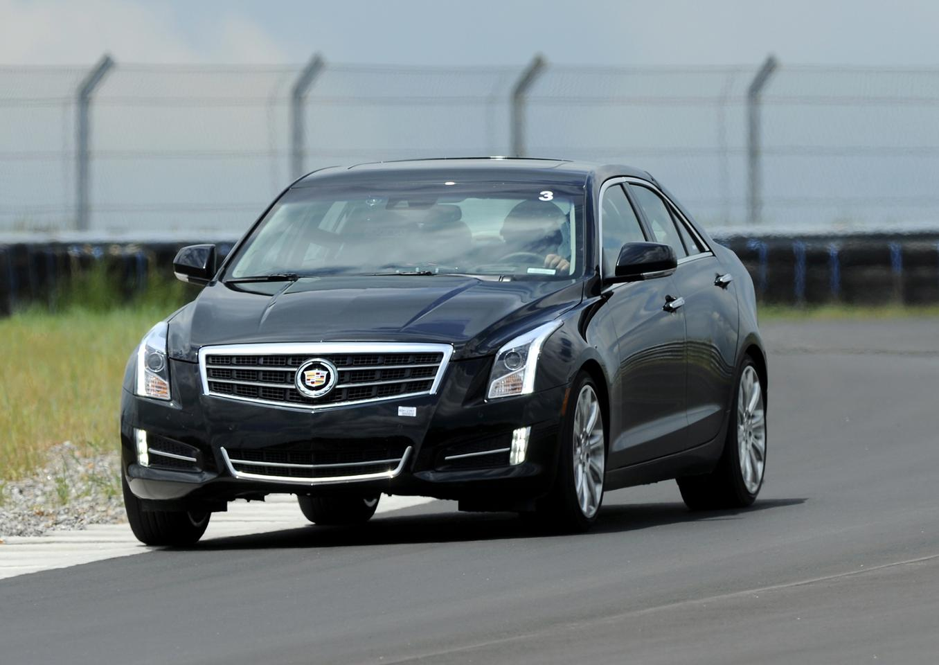 The 2013 model of the Cadillac ATS will include a Driver Assist Package (Photo: Sam Sharpe for Cadillac)