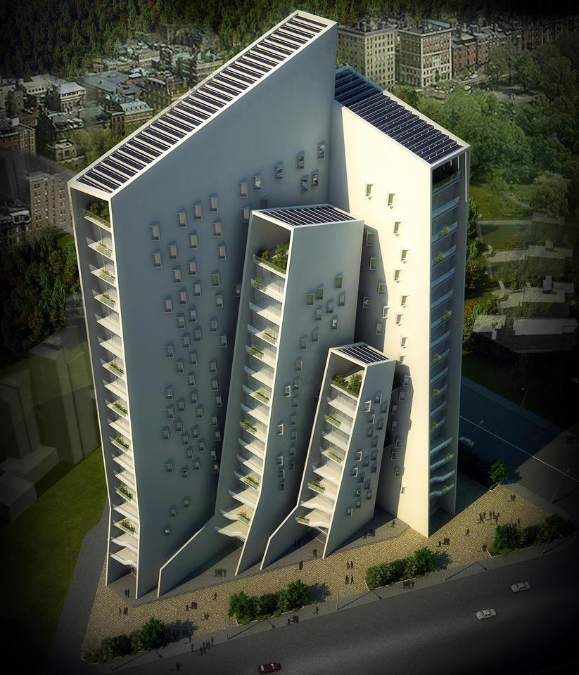 Day one winner: India's Agashiyan concept - Sanjay Puri Architects