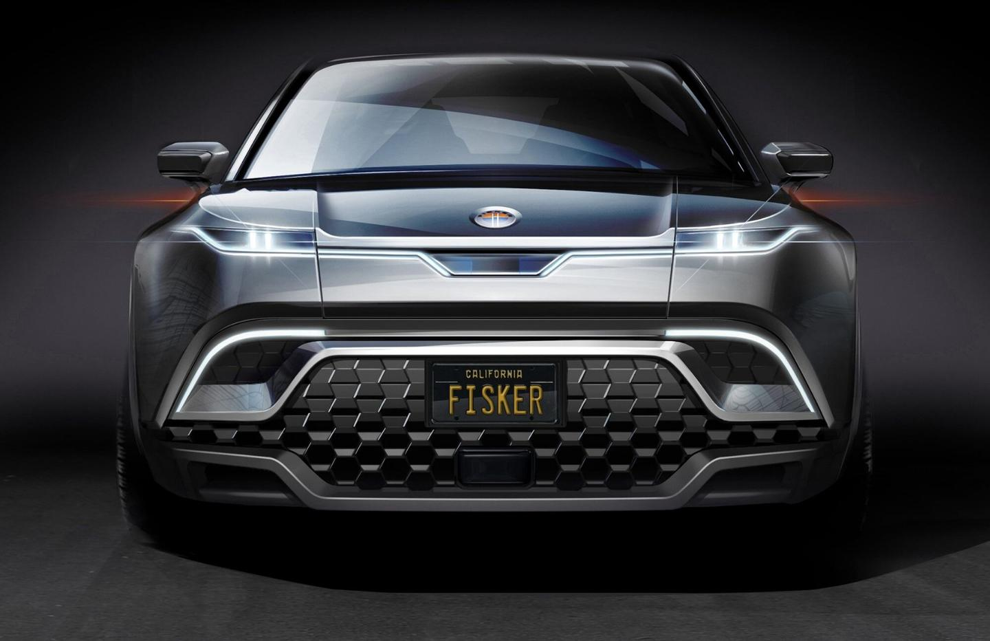 Technology is a major focus of the Fisker SUV announcement, with radar and other sensor elements being placed higher on the vehicle thanks to the elimination of theneed for a grille