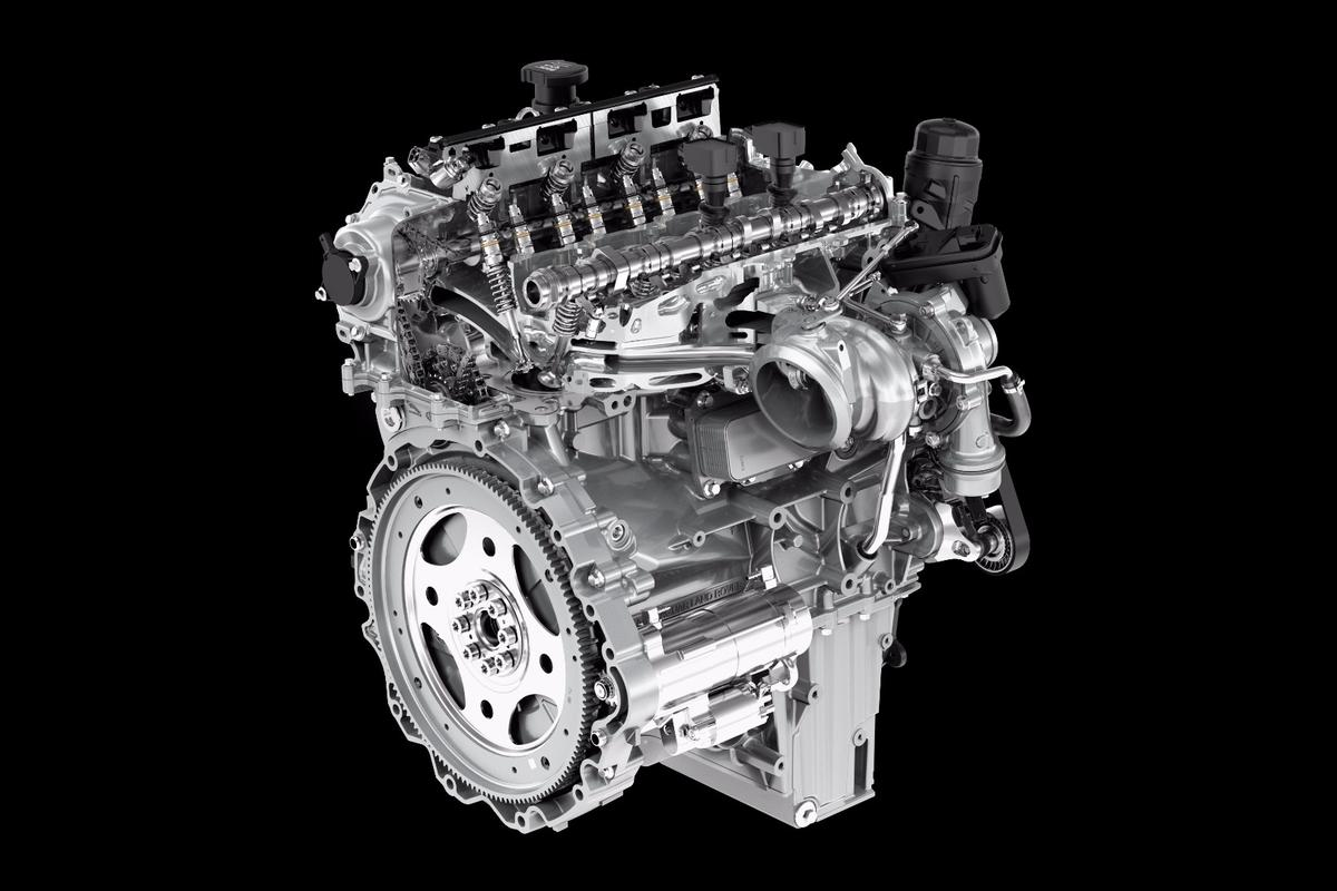 Jaguar's family of Ingenium engines will grow to include gasoline power