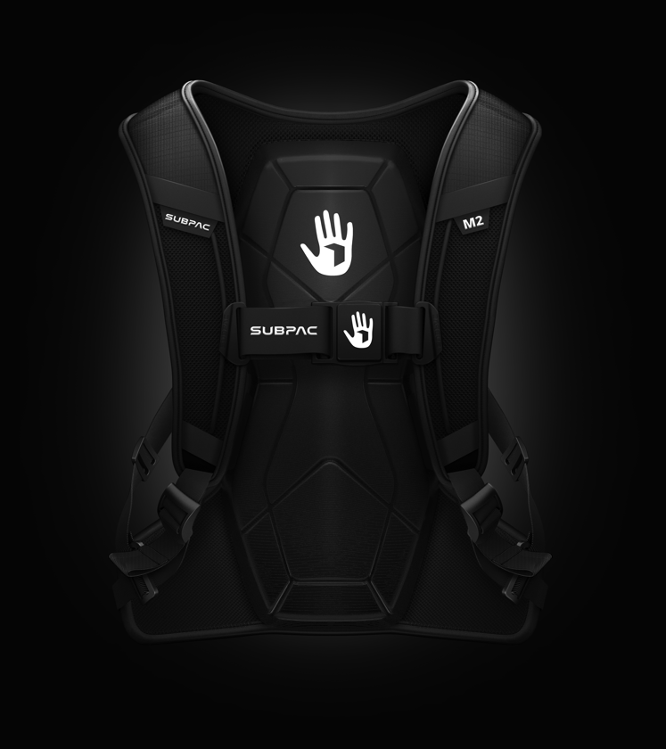 The M2's new SubPac transducers have been optimized for greater accuracy and energy efficiency