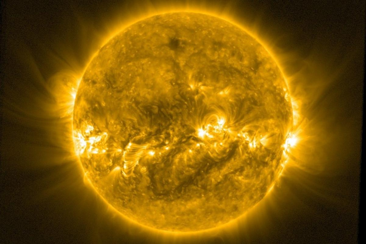 Image of the Sun taken by ESA's Proba-2 satellite