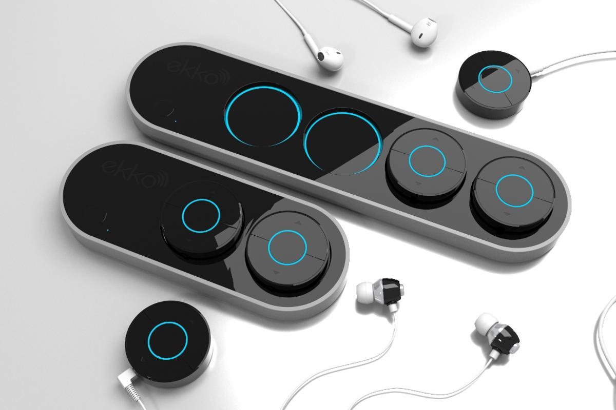 The ekko streaming hi-fi hub allows up to 10 listeners to share a single audio source