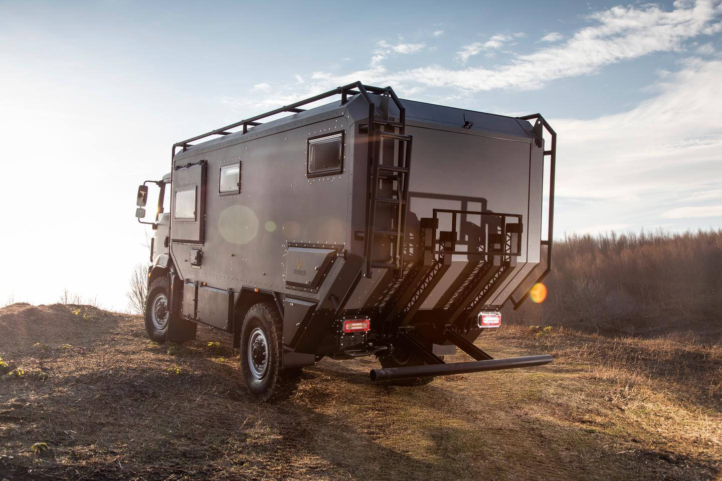 Crawler offers a variety of performance and cargo-carry add-ons