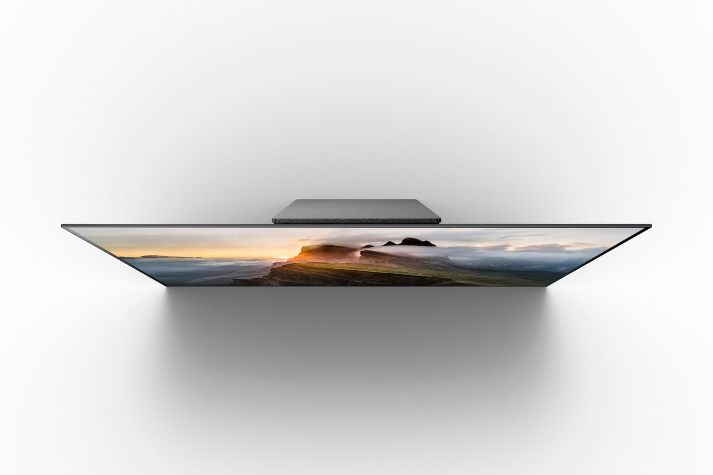 Sony's new flagship A1E Bravia OLED Series boasts a world-first Acoustic Surface sound system
