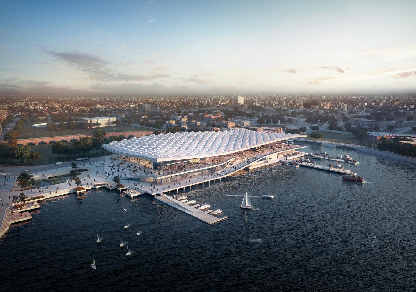Sydney Fish Market is due to begin construction soon, with completion expected in 2024