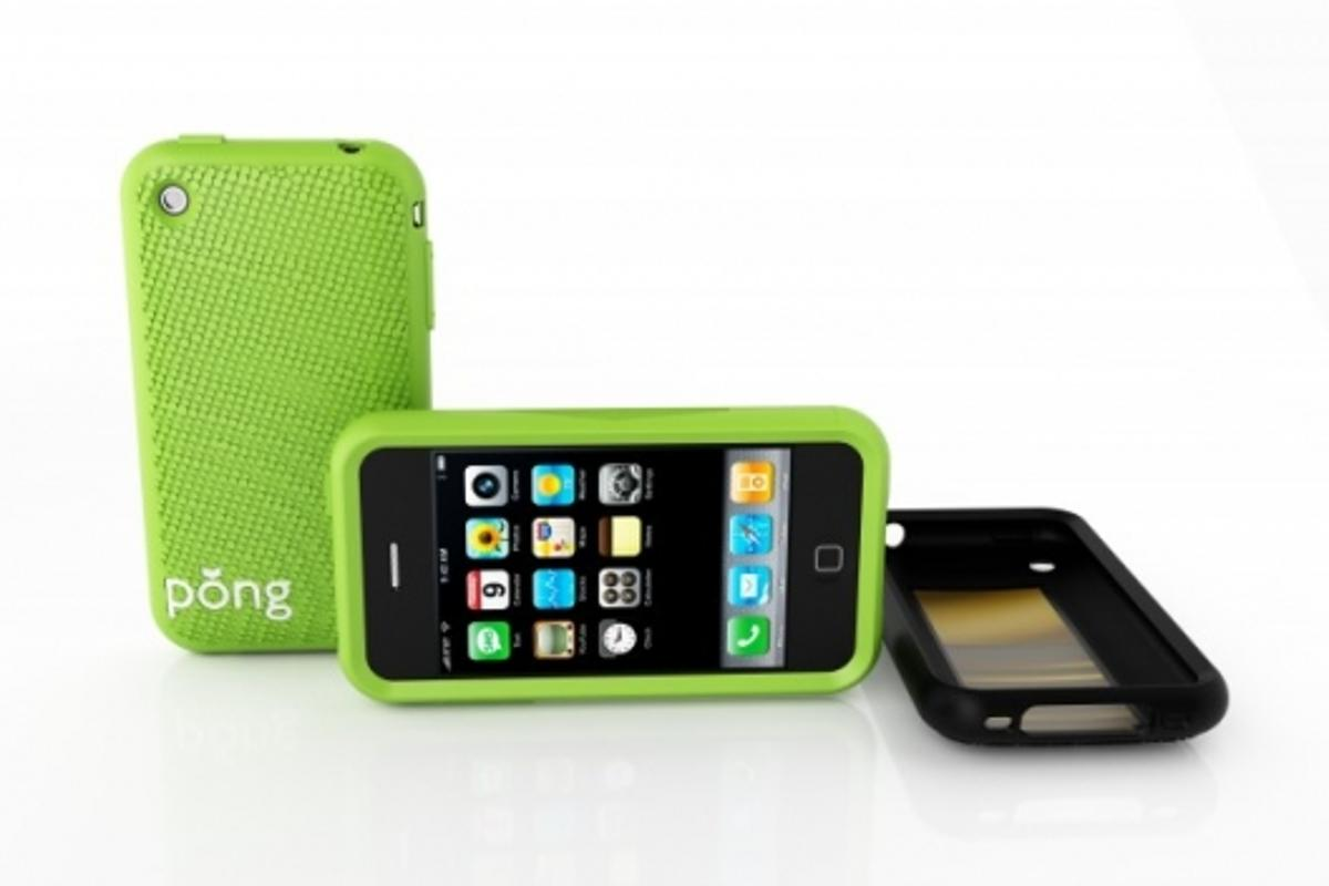 The Pong iPhone case promises to reduce cell phone radiation