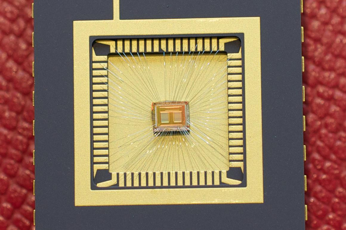 Swiss researchers have achieved reliable multi-bit phase-change memory, using a specially-designed chip (Photo: IBM Research - Zurich)