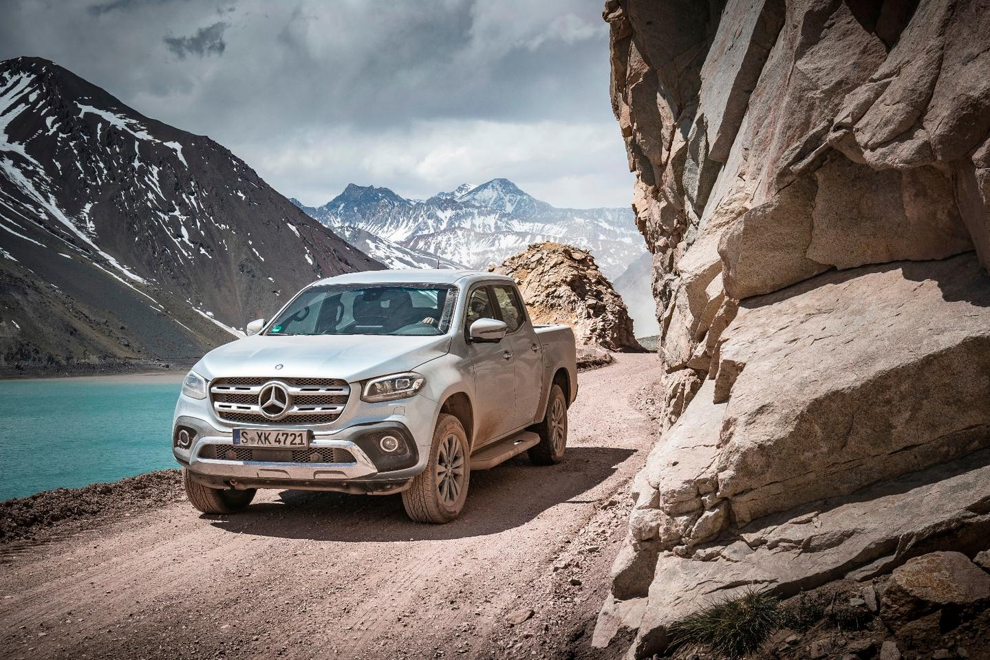 Mercedes transforms the X-Class pickup into an off-road