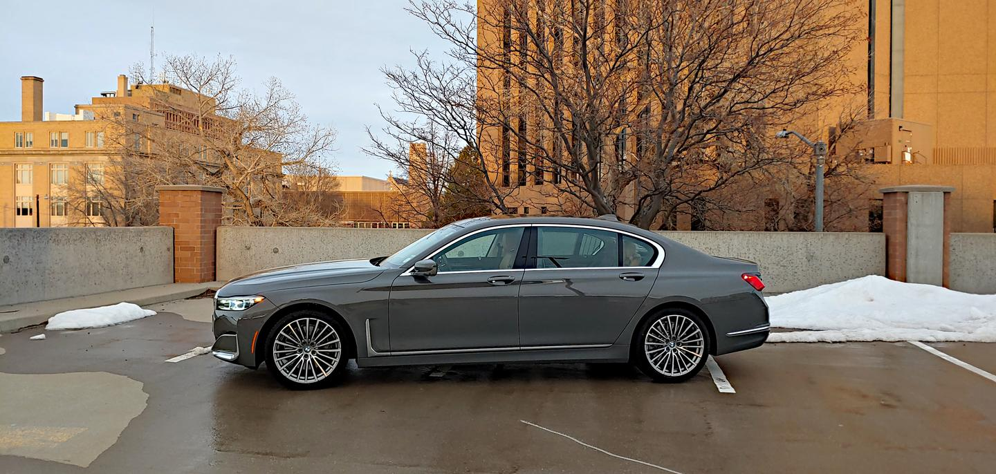 The 2020 BMW 7 Series impresses inside and out
