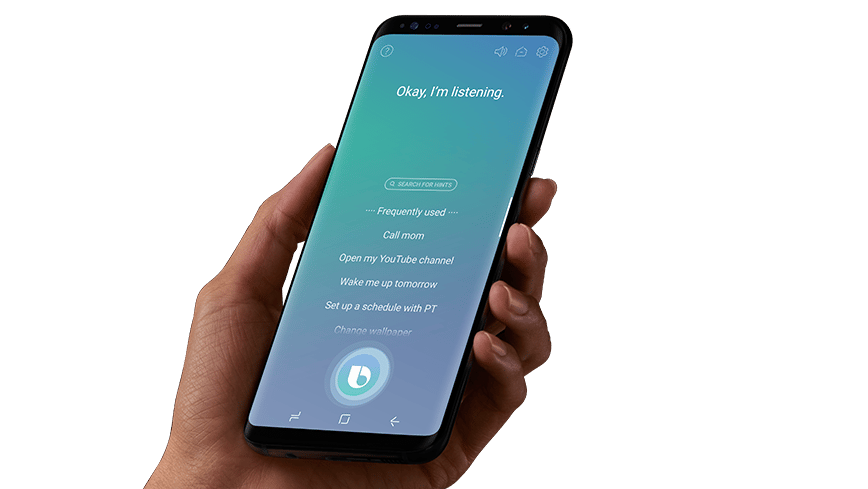 The Bixby software update is available for Samsung Galaxy S8 and S8+ owners starting today