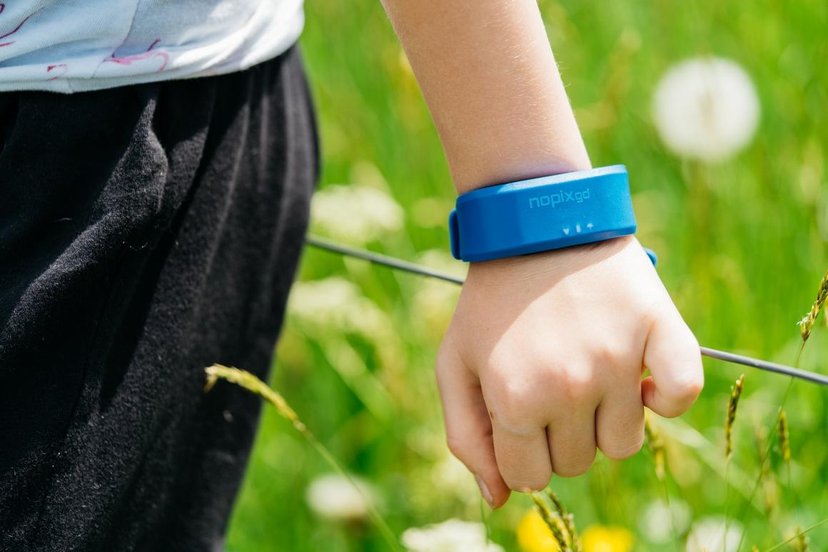 Plans call for the  Nopixgo wristband to be available in a choice of five colors