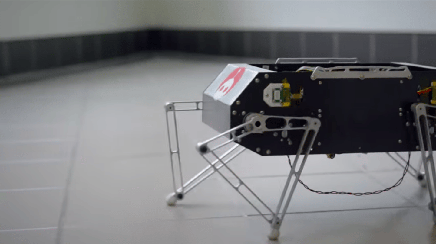 Move over Spot, there's a new four-legged flipping robot in town