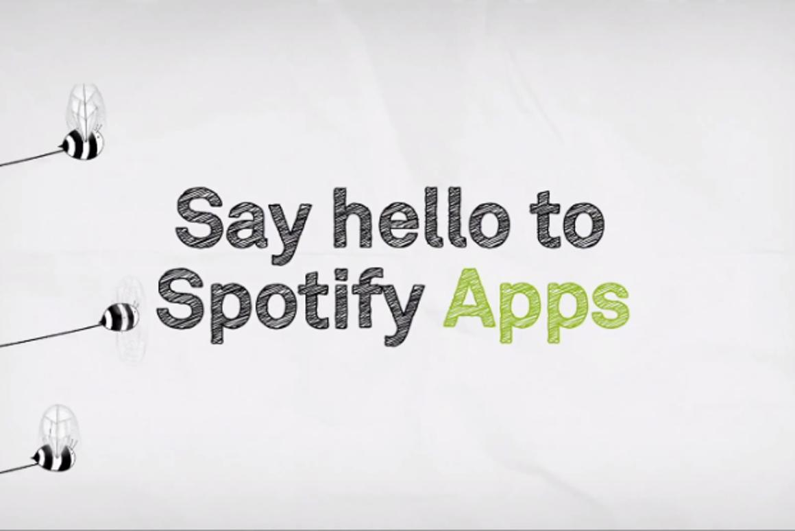 Spotify introduces apps (Image: Spotify)
