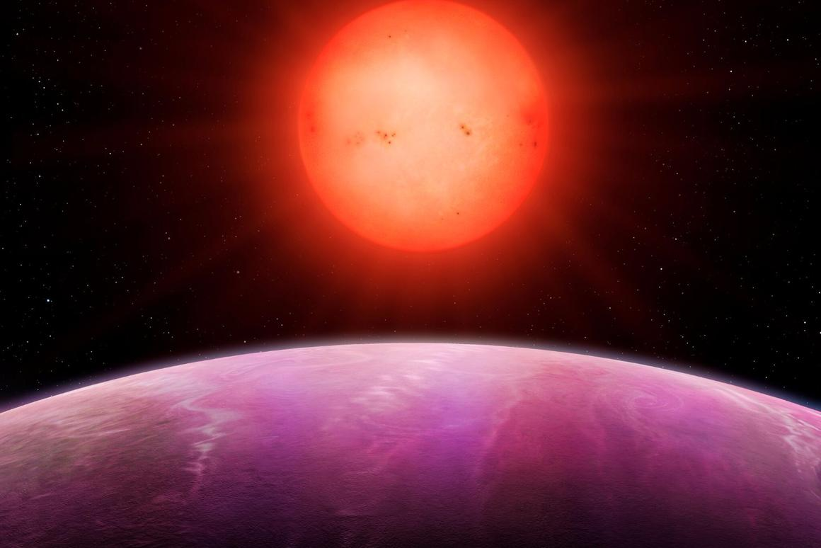 The exoplanet is located roughly 600 light-years from our planet, and orbits its parent star once every 2.6 Earth days