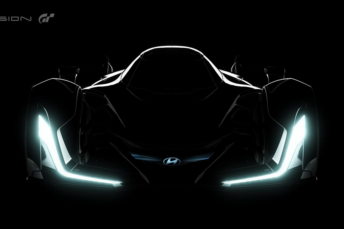 Hyundai has teased the latest Vision Gran Turismo car