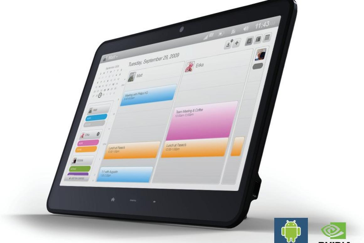 Powered by NVIDIA Tegra and running Android 2.0 Eclair, the new Vega tablet from ICD