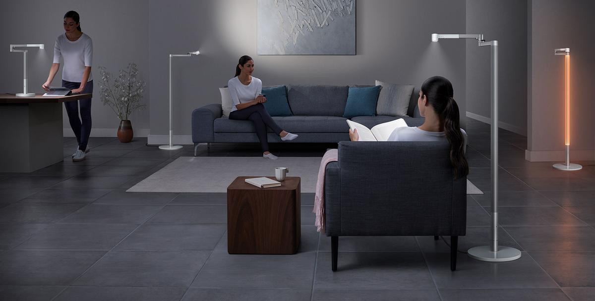 The newly launched Lightcycle Morph is based on the Dyson Lightcycle task light that the company introduced last year