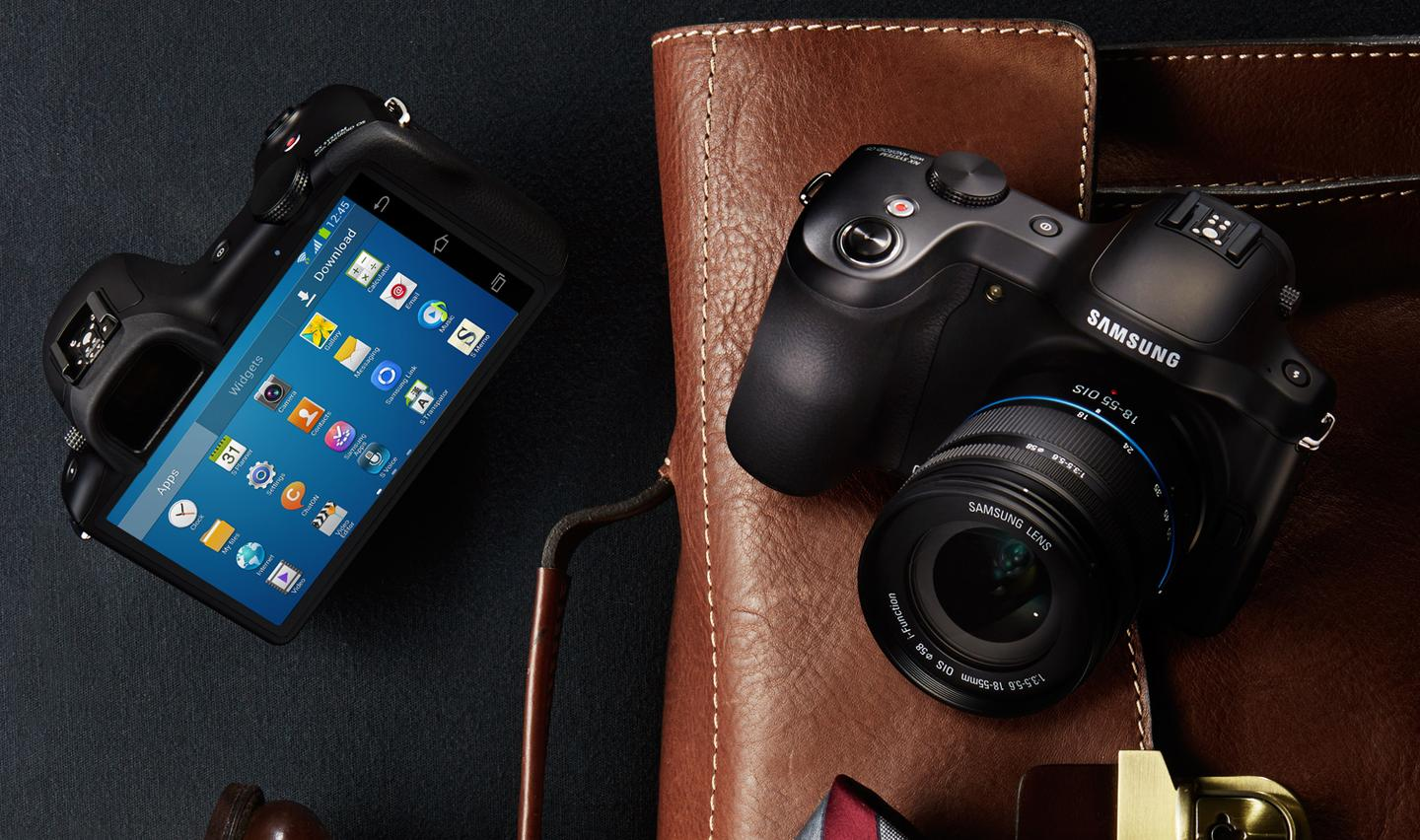 Samsung Galaxy NX brings Android to interchangeable lens cameras