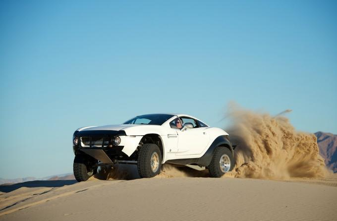 The Rally Fighter is Local Motors' first official offering