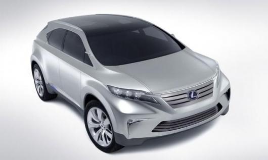 Lexus' LF-Xh concept SUV