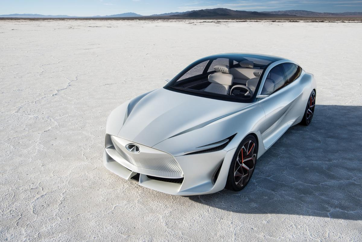 Infiniti's Q Inspiration will serve as the base for a new electric vehicle platform to go into production by 2023