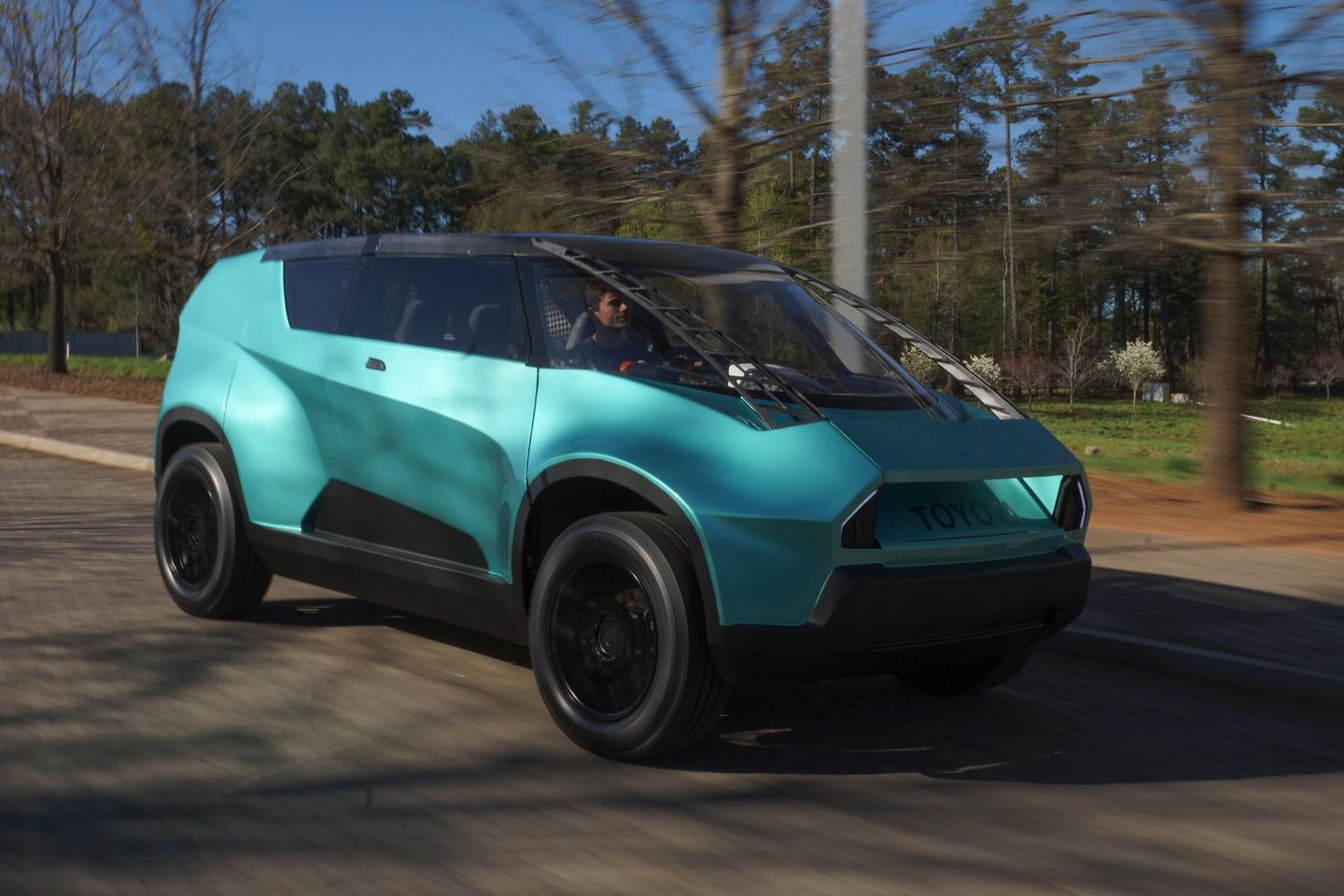 Toyota uBox's concept features a unique look and versatile layout