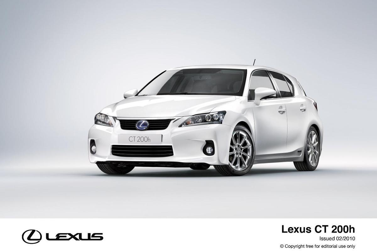 Lexus CT 200h premium compact hybrid