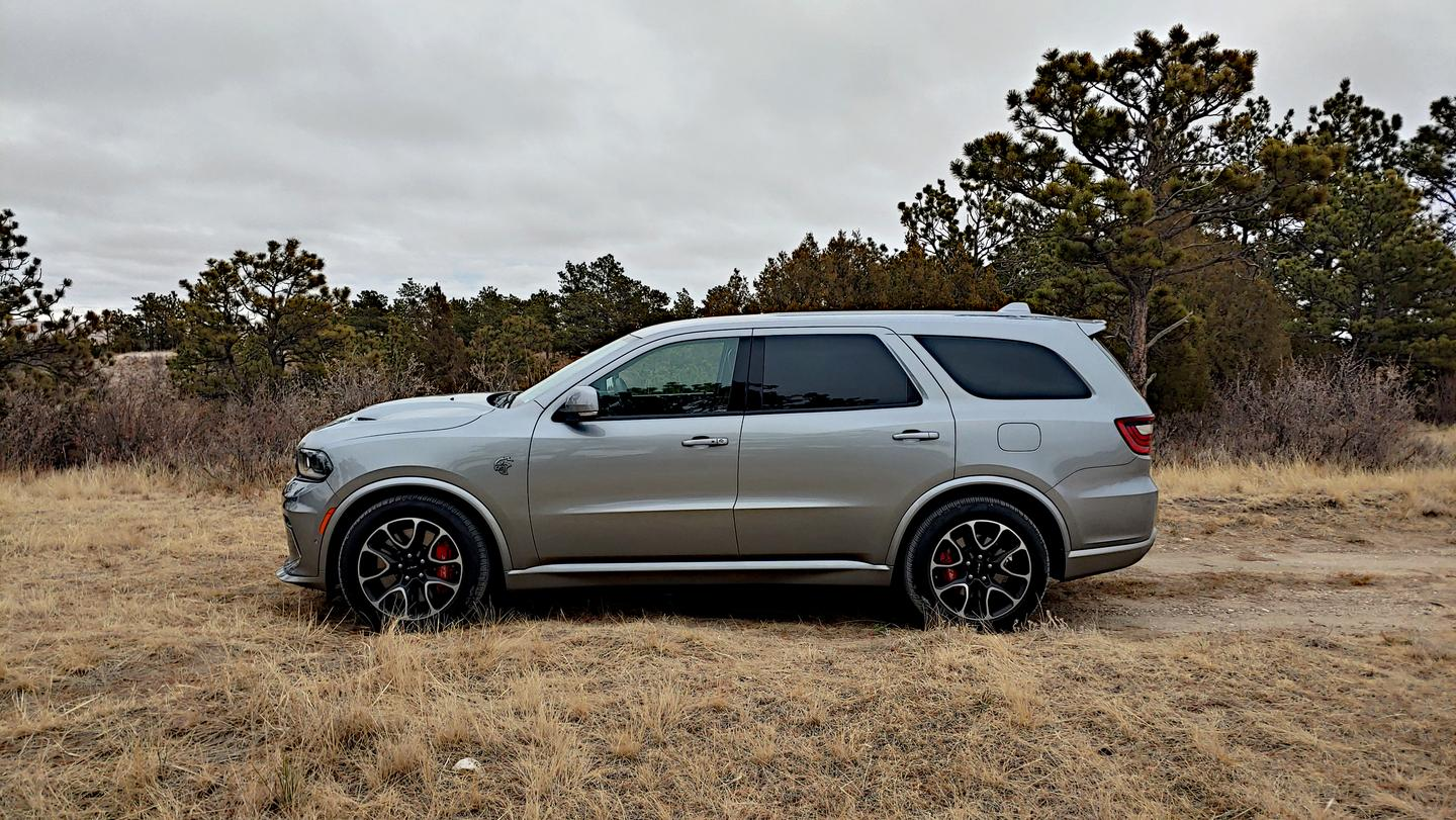 With the 710 horsepower also comes seating for six and full-time all-wheel drive in the Durango SRT Hellcat