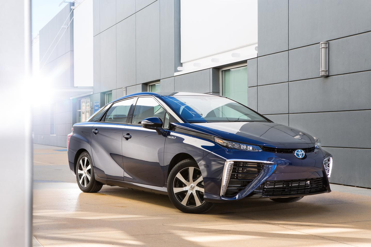 Toyota's Mirai is the result of 20 years of R&D