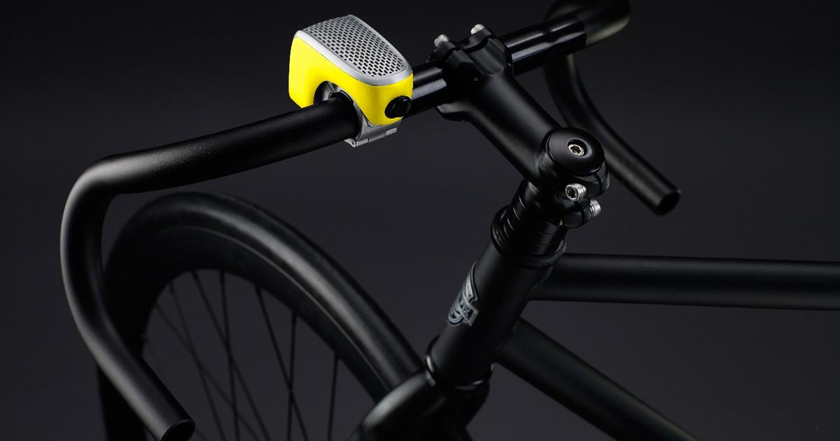 Bicycle bell packs four-pronged smart punch into tiny package