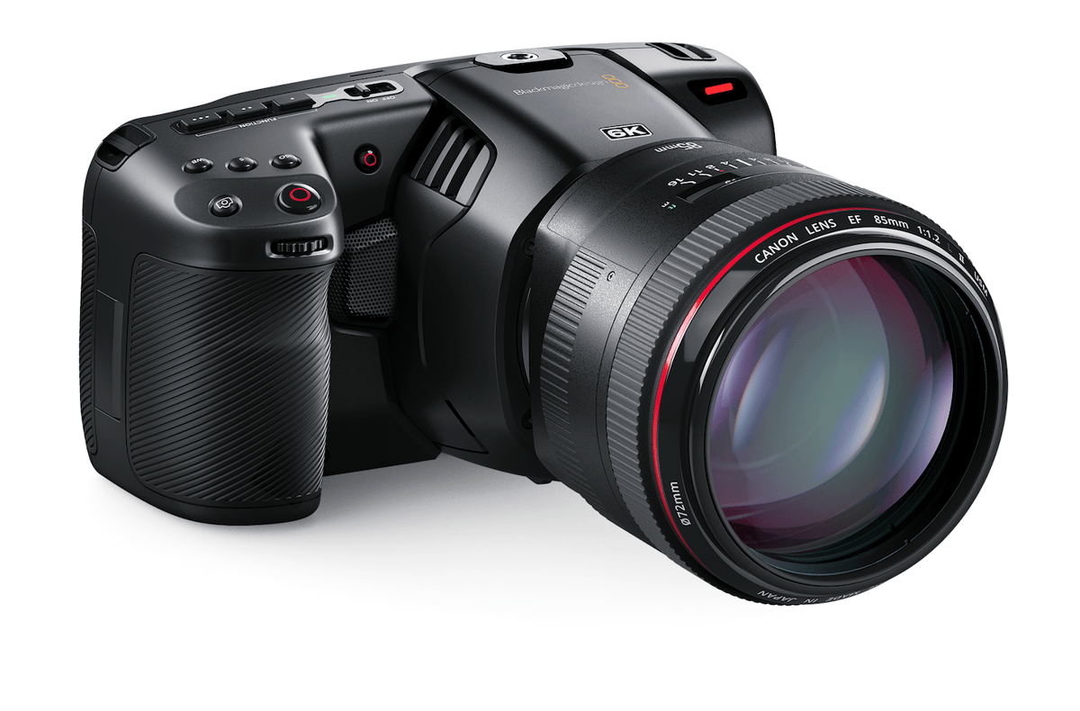 Available now, the Pocket Cinema Camera 6K is priced at US$2,495