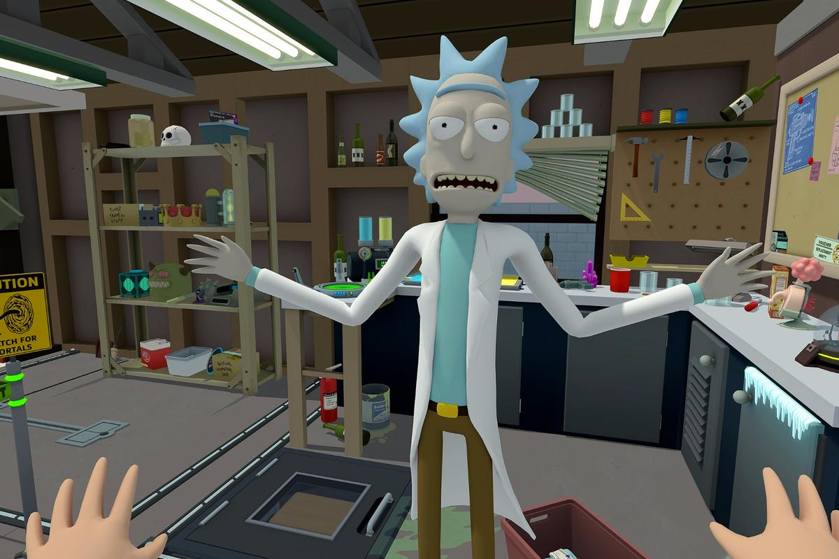 Rick and Morty: Virtual Rick-ality is available today for Oculus Rift (Touch) and HTC Vive
