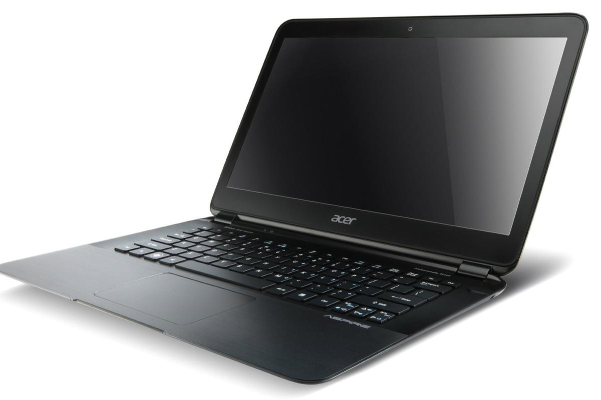 Acer has taken the wraps off the new Aspire S5 Ultrabook (shown), the new Timeline Ultra and previewed its new secure online storage service, AcerCloud