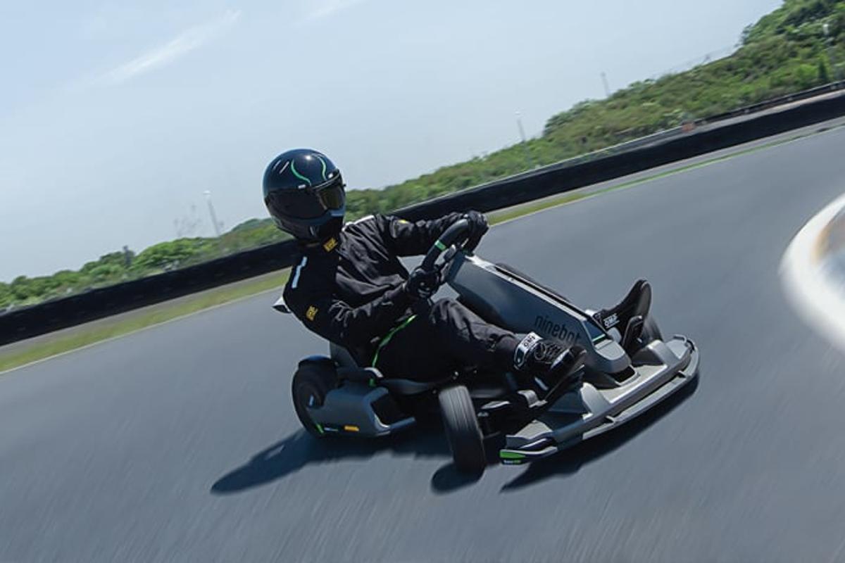 The Gokart Pro is designed to get sideways