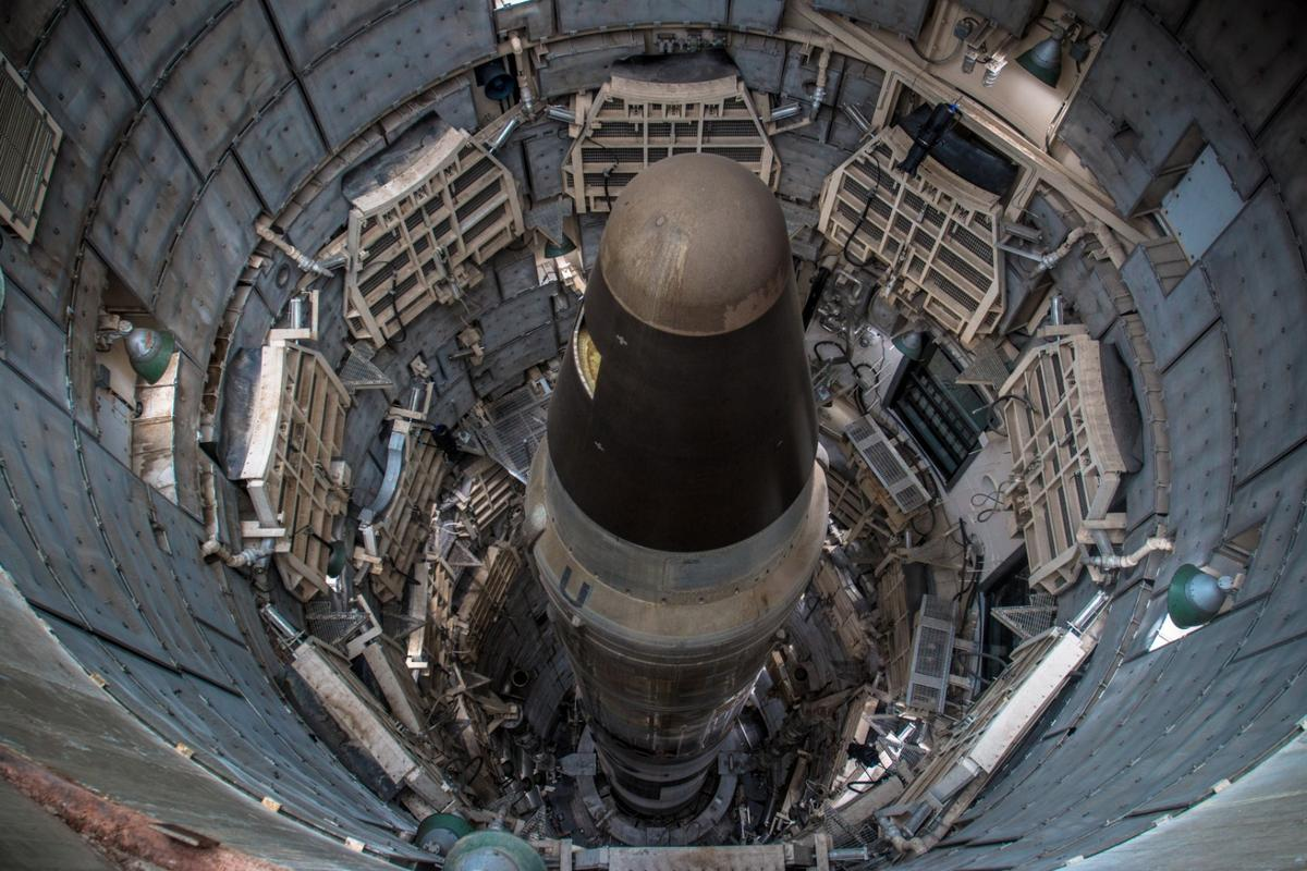 The Titan Missile Museum contains a deactivated Titan II Intercontinental Ballistic Missile in its silo