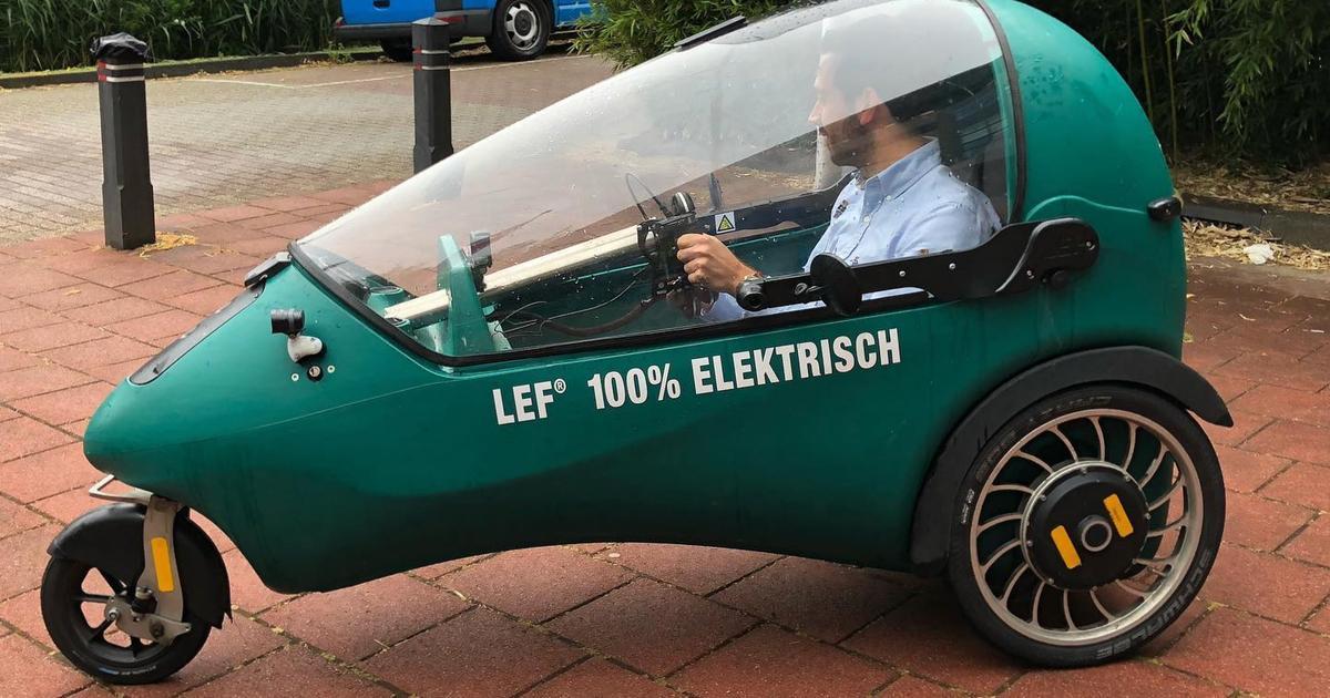 Dutch EV is more than an ebike, less than a car
