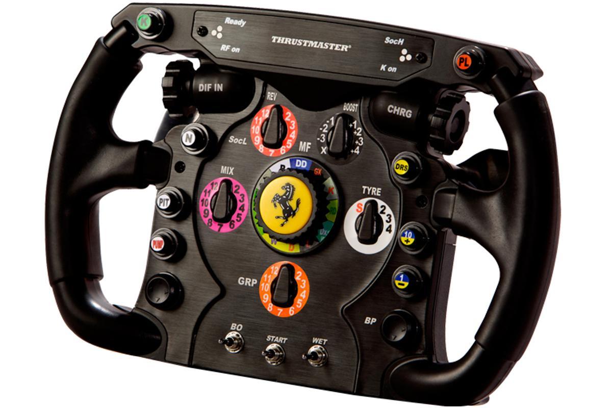 Thrustmaster's Ferrari F1 Wheel Add-On