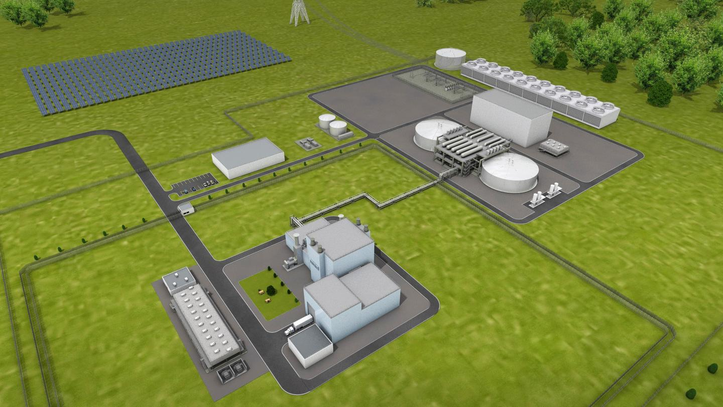 Natrium's advanced nuclear reactor design, which will be up and running as a full scale trial plant in the late 2020s, also stores several times more energy than most grid scale batteries for rapid load response