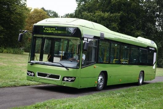 The Volvo 7700 Hybrid system