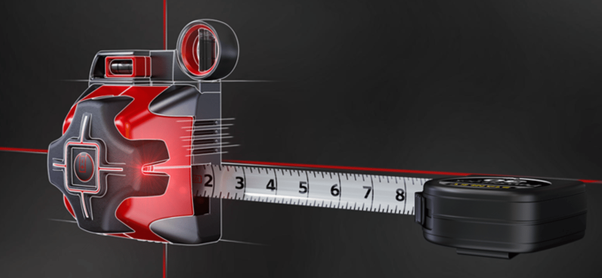 The Sure Hang allows users to attach a tape measure
