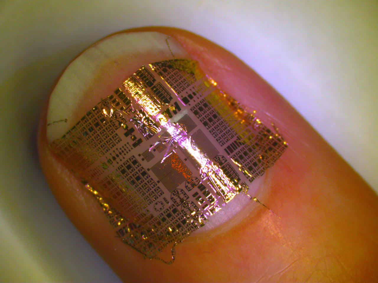 Researchers at ETH Zurich have created ultra thin, clear and flexible circuitry