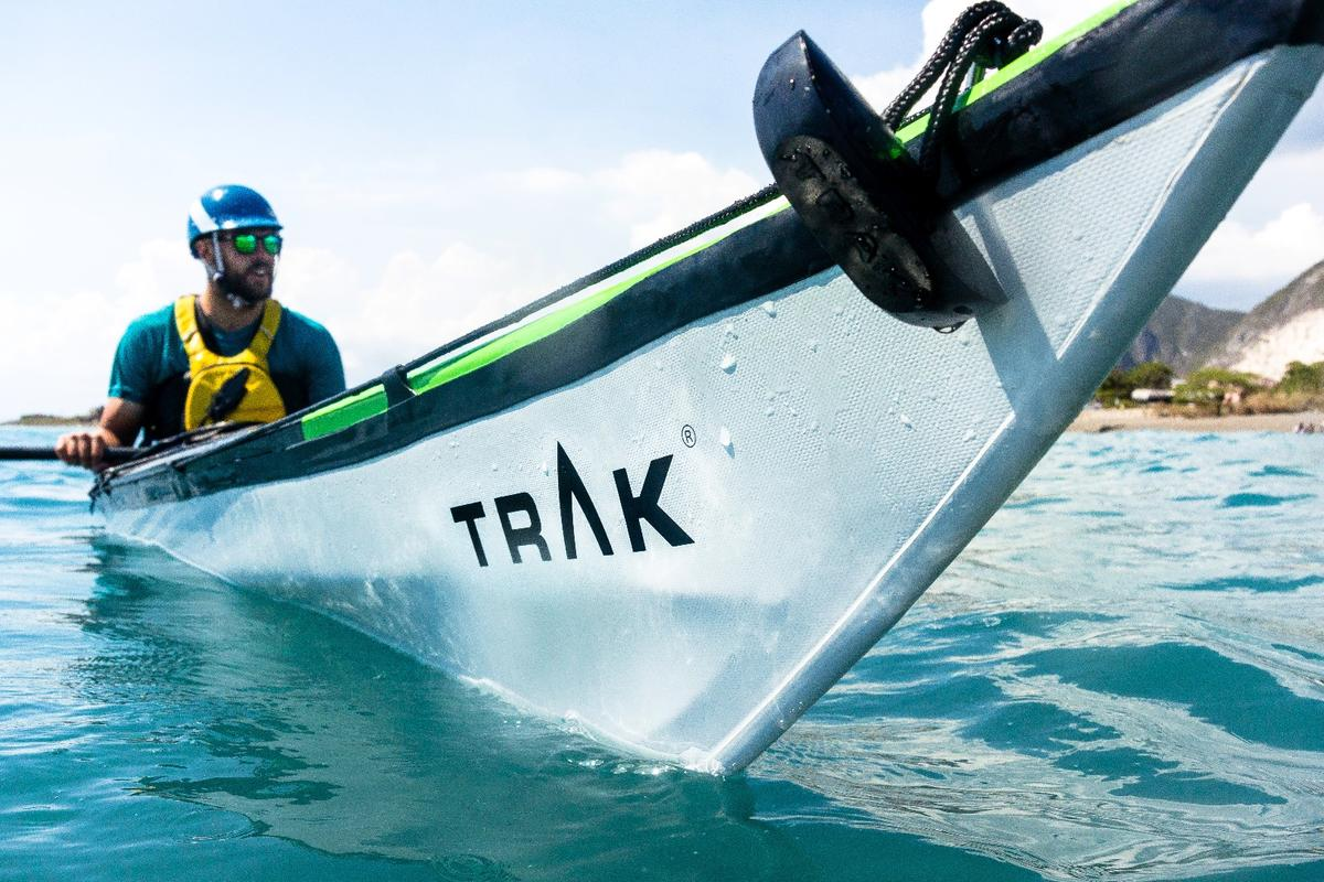 On the water in the Trak 2.0