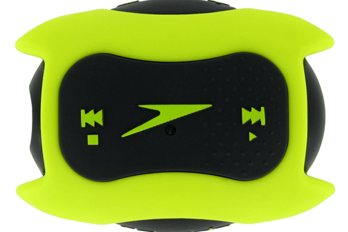 The Speedo Aquabeat comes in lime green, hot pink, black and gray
