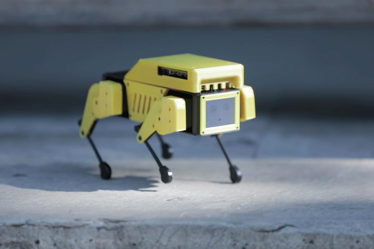 The Mini Pupper is presently on Kickstarter