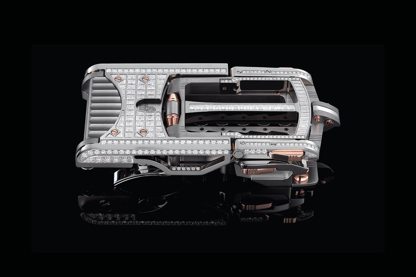 "Roland Iten's Calibre R822 ""Predator"" belt buckle: Belt not included in the US$400,000 price"