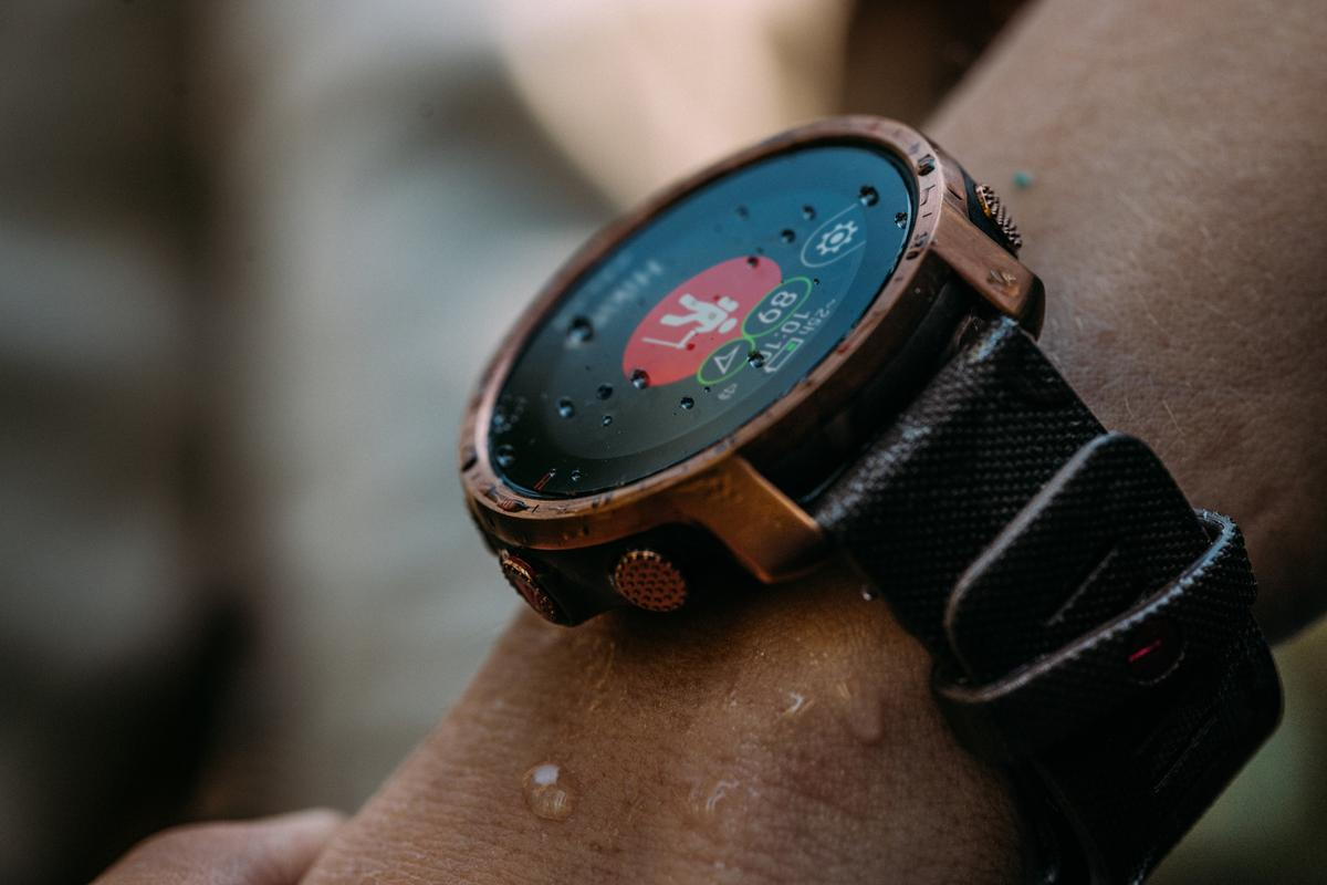 The Grit X Pro smartwatch is designed to feed outdoorsy users with all the information they need for an active lifestyle
